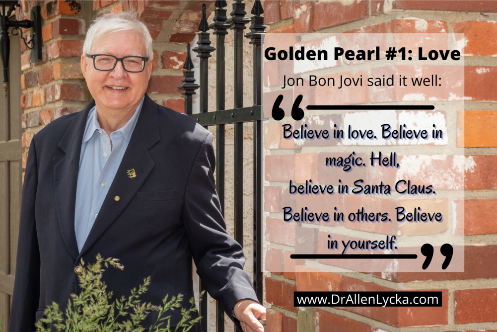 Love is Golden Pearl number 1