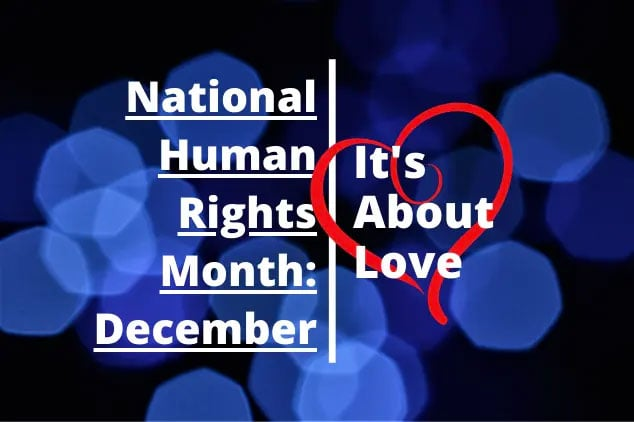 December is National Human Rights Month